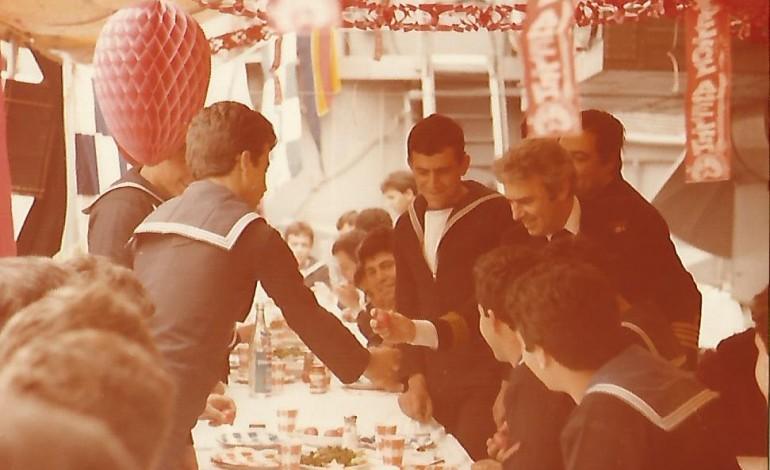 Πάσχα  1979 εν όρμω Ναυστάθμου Σαλαμίνας   στο Α/Τ Κουντουριώτης !