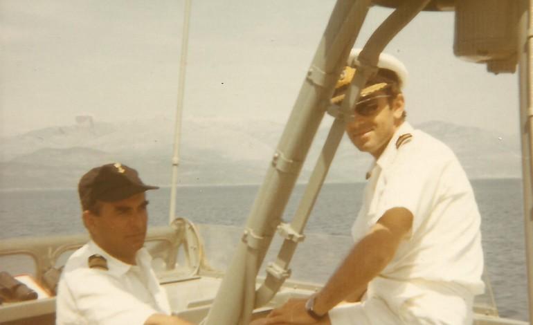 Με το Ο/Γ ΡΟΥΣΣΕΝ  και  Κυβερνήτη τον  τότε Πλωτάρχη Α. Λιονάκη Β.Ν για ανεφοδιασμό τορπιλακάτων.