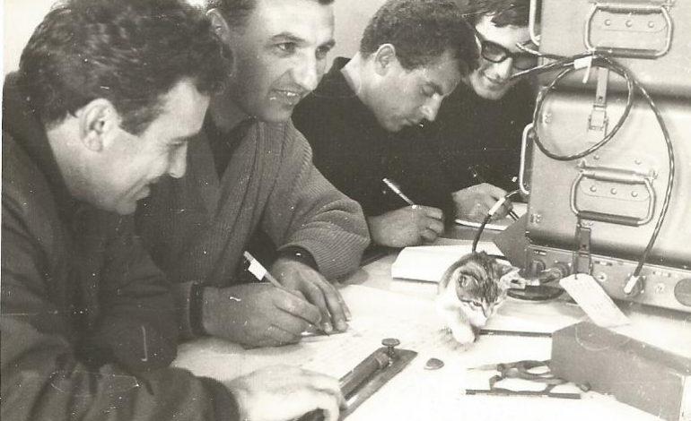 Ως  Κυβερνήτης  του Υ/Γ ΒΕΓΑΣ κατά την διάρκεια υδρογραφήσεων, στο Β. Αιγαίο.