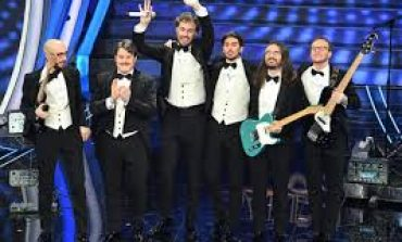 "Festival Sanremo 2020 Τρίτο βραβείο :I Pinguini Tattici Nucleari : ""Ringo Starr"""